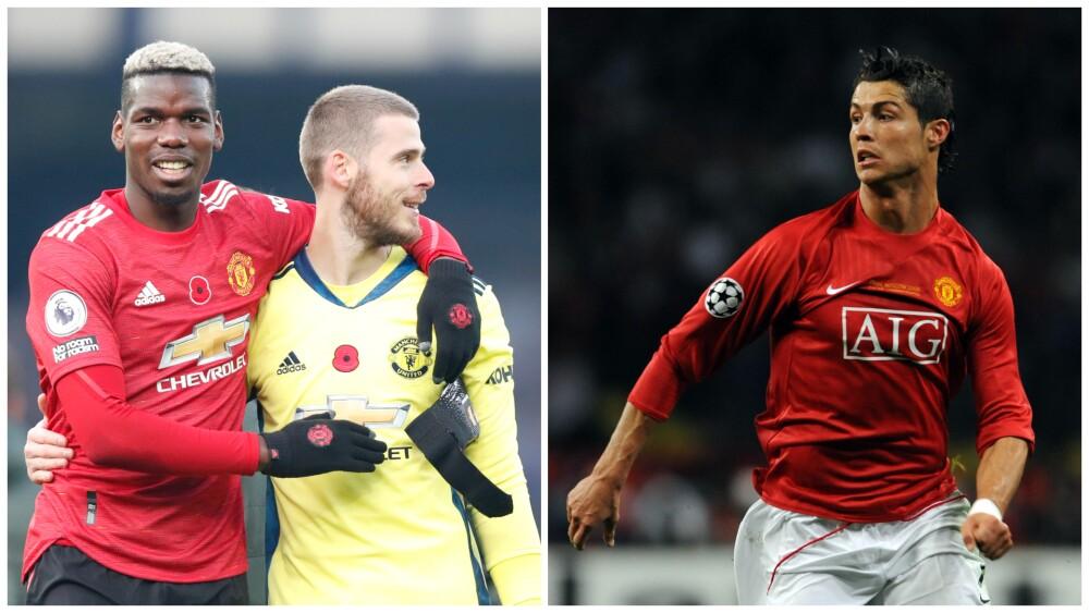 David De Gea y Paul Pogba, nuevos compañeros de Cristiano Ronaldo en Manchester United