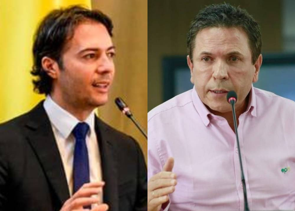 Daniel Quintero y Guillermo Rendón