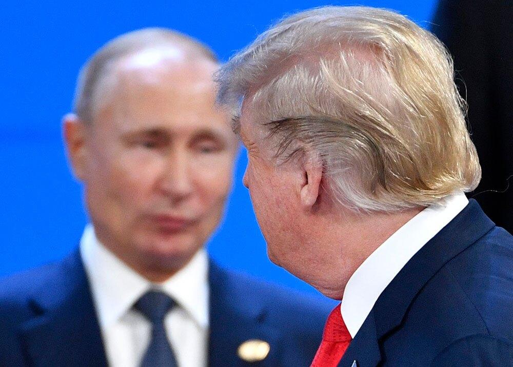 322914_BLU Radio, Trump y Putin / foto: AFP