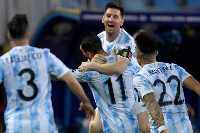 Gol de Lionel Messi en Argentina contra Ecuador