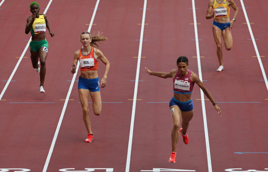 Sydney McLaughlin ganó el oro en los 400 metros vallas de los Juegos Olímpicos Tokio 2020.