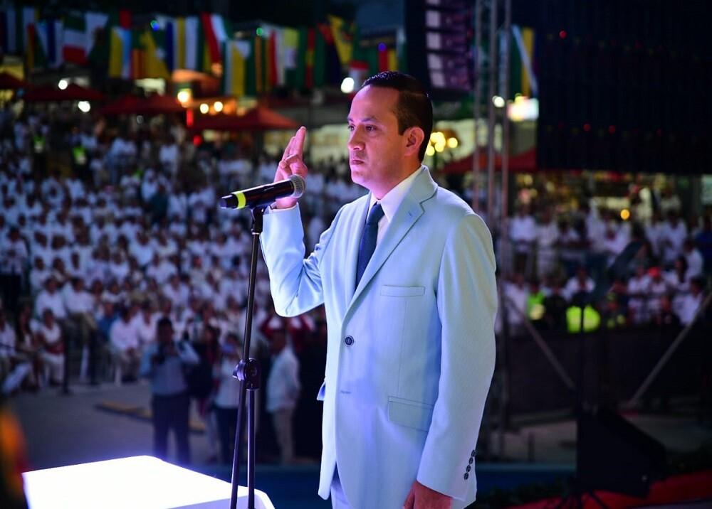 351645_BLU Radio. Mauricio Aguilar, gobernador de Santander / Foto: Gobernación