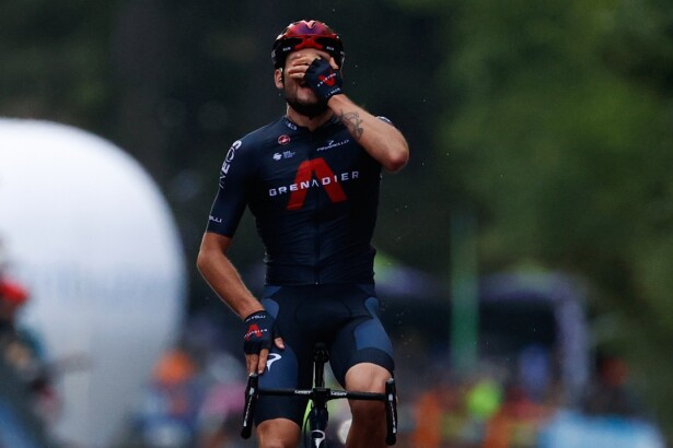 Filippo Ganna. Foto: AFP