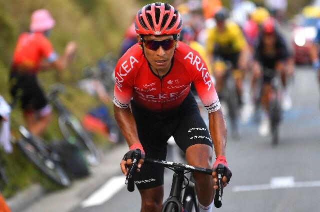 Nairo Quintana, para el Tour de Francia