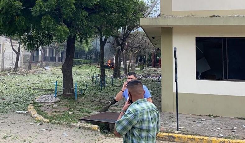 Explosión batallón Cúcutá