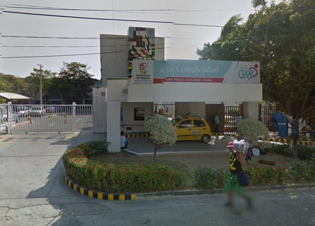 340886_Blu Radio / Hospital Cari Alta Complejidad. Foto: Google Maps