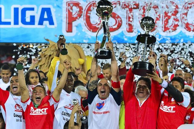 Independiente Santa Fe, campeón en 2012