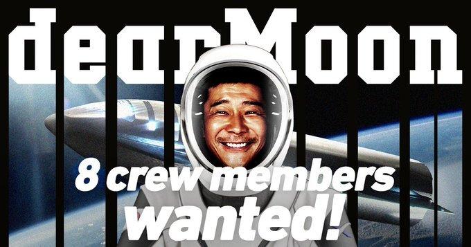 millonario llevará a 8 personas a viaje a la Luna