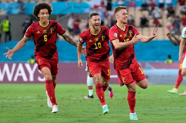 Bélgica contra Portugal