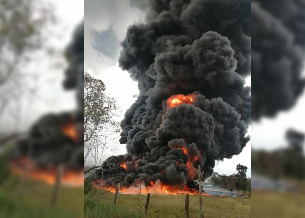 Explosión Saravena