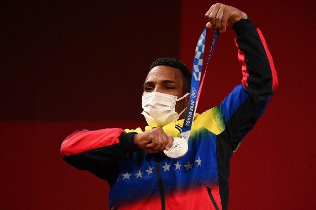 Julio Mayora en los Juegos Olímpicos de Tokio