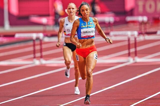 Melissa González, en los Juegos Olímpicos de Tokio 2020
