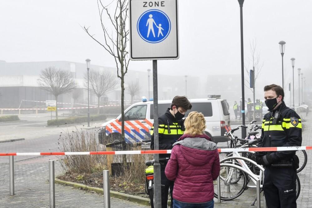 Atentado en Países Bajos
