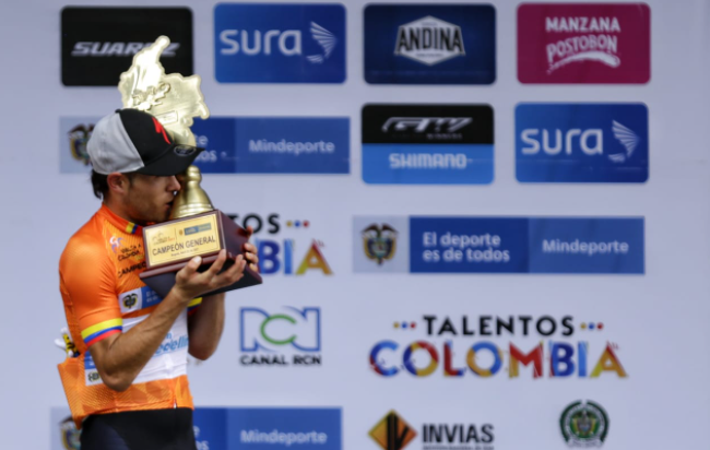 José Tito Hernández se coronó campeón de la Vuelta a Colombia 2021.