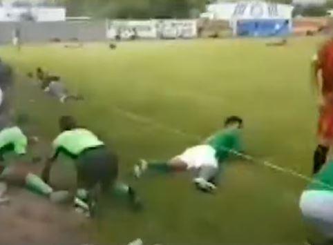 balacera durante partido de futbol en México