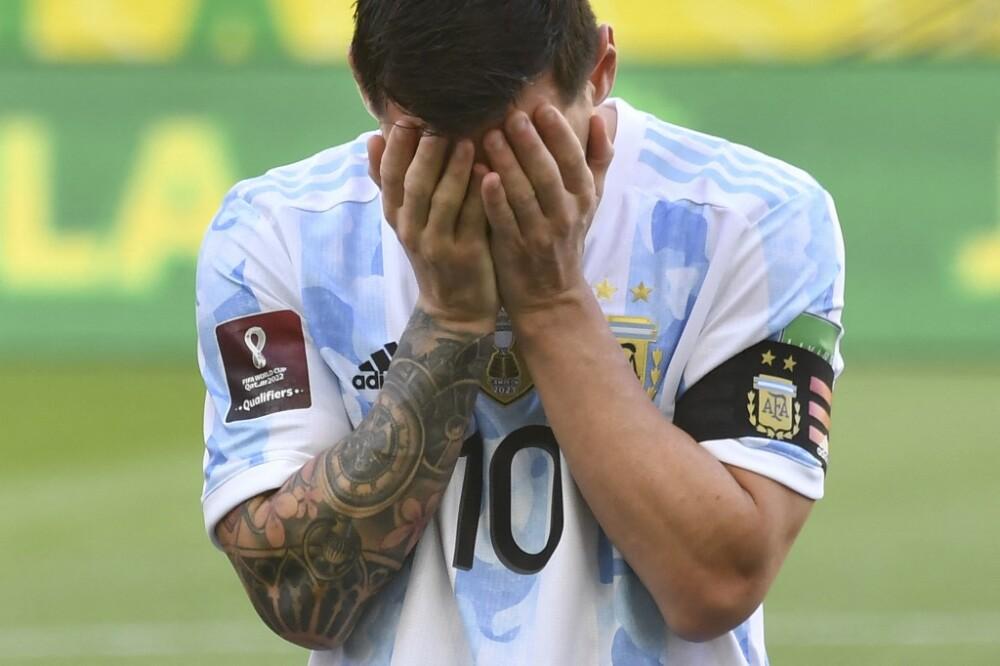 Polémica suspensión del juego entre Argentina- Brasil por Eliminatorias