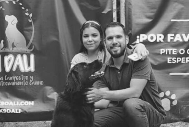 pareja que murió en accidente en Medellín