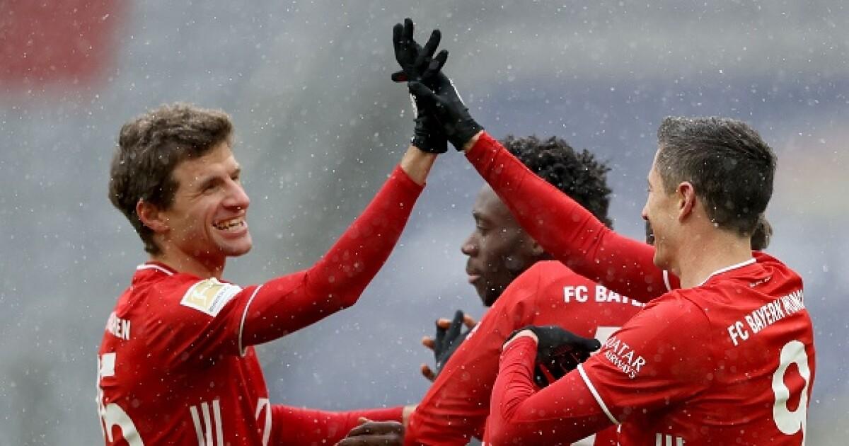 Robert Lewandowski y Thomas Müller mantienen con vida al Bayern Múnich: victoria 2-1 contra Friburgo