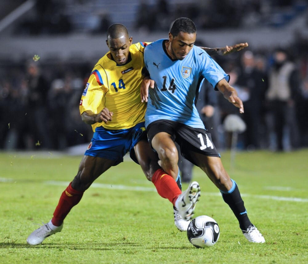Amaranto Perea, Colombia vs Uruguay