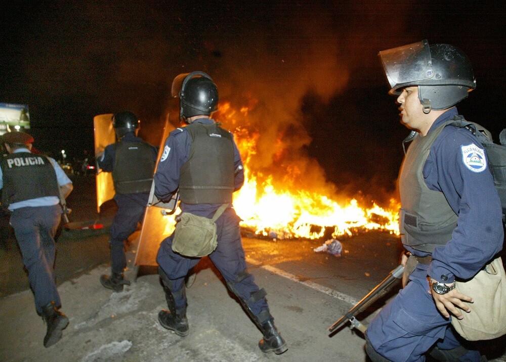 321435_BLU Radio, Protestas en Nicaragua referencia / Foto: AFP