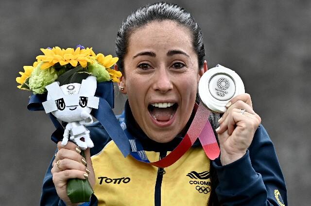 Mariana Pajón, medalla de plata