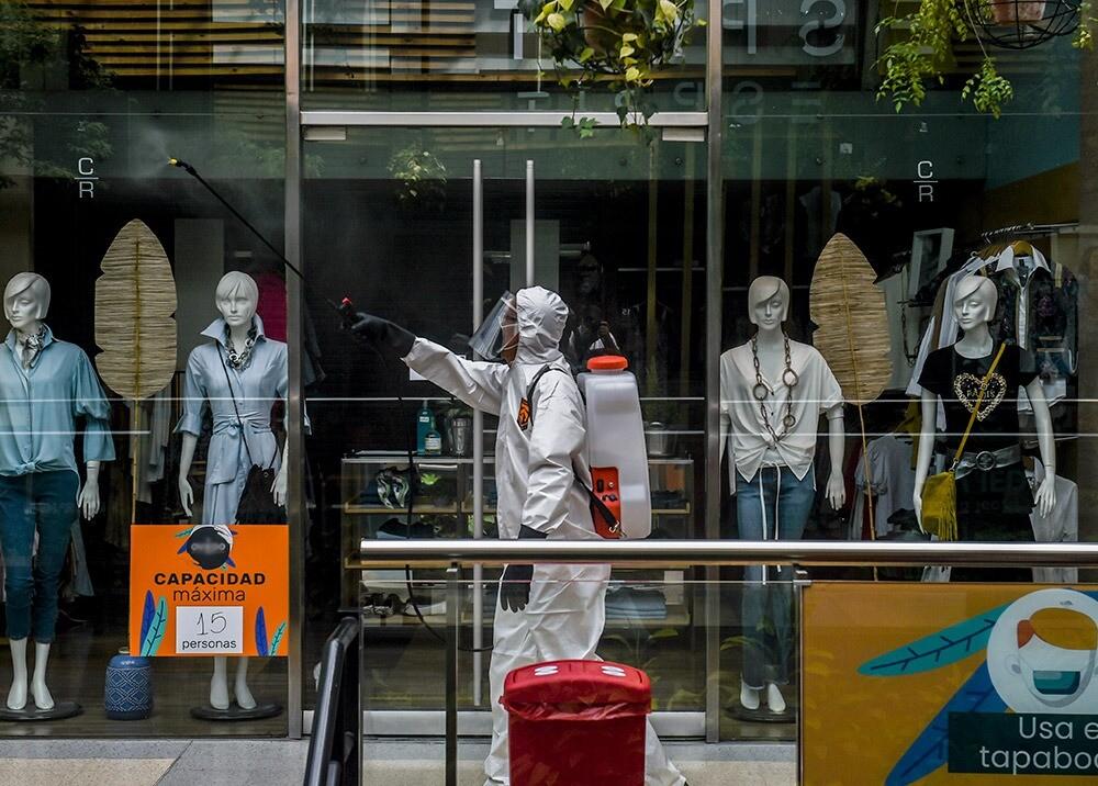 Centro comercial en la pandemia : AFP, imagen de referencia.jpeg