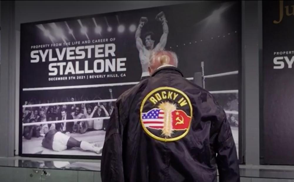 Subasta Sylvester Stallone