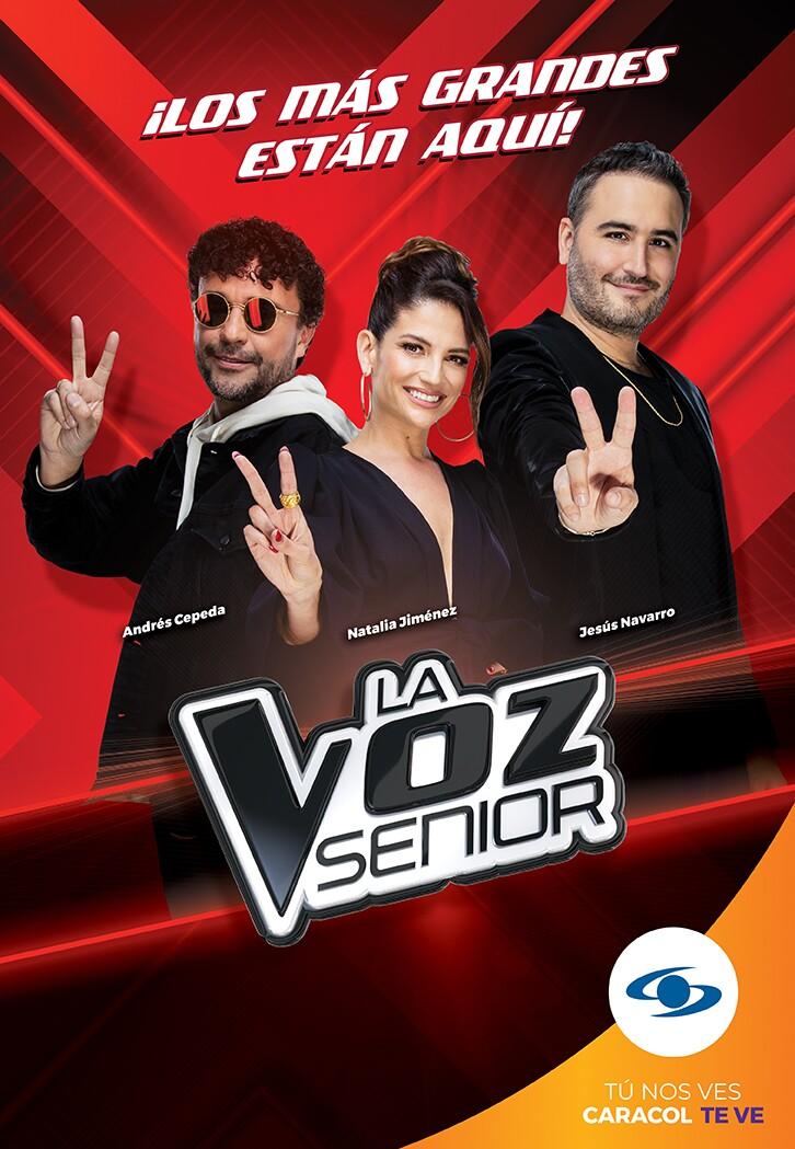 Gran lanzamiento de La Voz Senior.