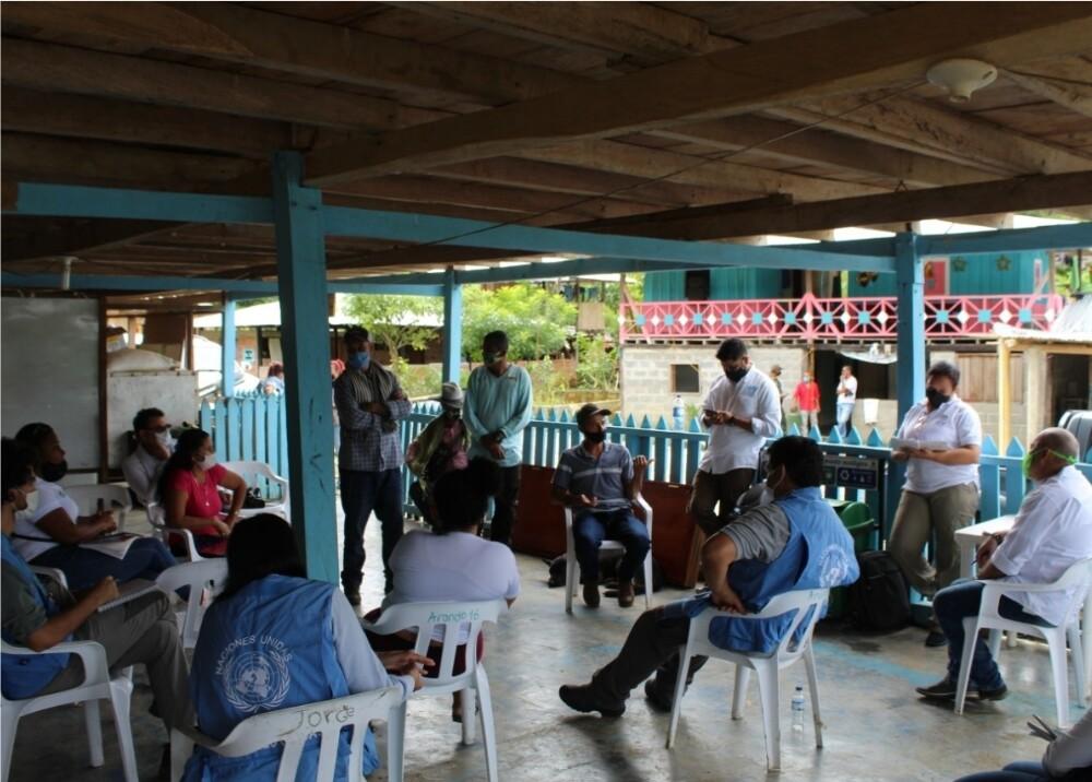 370241_Visita de autoridades al nuevo predio en Mutatá // Foto: Gobernación de Antioquia