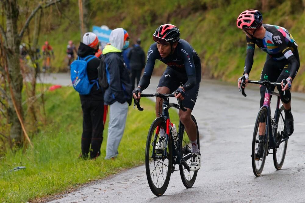 Giro de Italia Egan Bernal AFP.