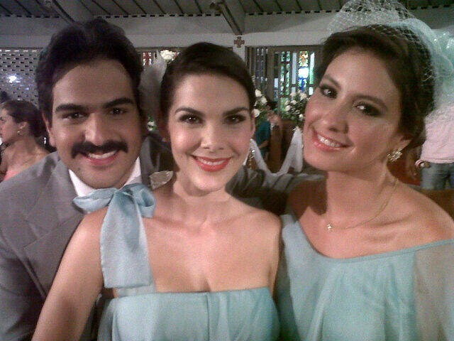 Alejandro Palacios, María Teresa Carrasco y Taliana Vargas