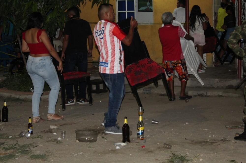 374483_Toque de queda y ley seca en Malambo pasan por exhaustivo control durante el festivo. Foto: Alcaldía Malambo