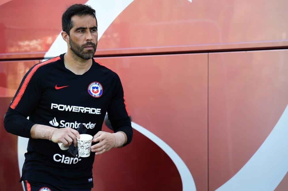 Claudio Bravo, jugador de la Selección Chile