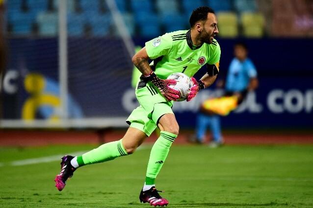 David Opina, guardameta de la Selección Colombia