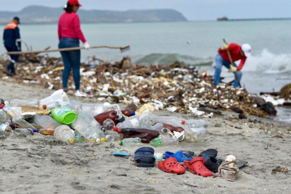 335496_Blu Radio/ Recolección de basuras en Puerto Colombia. Foto: Cortesía Triple A