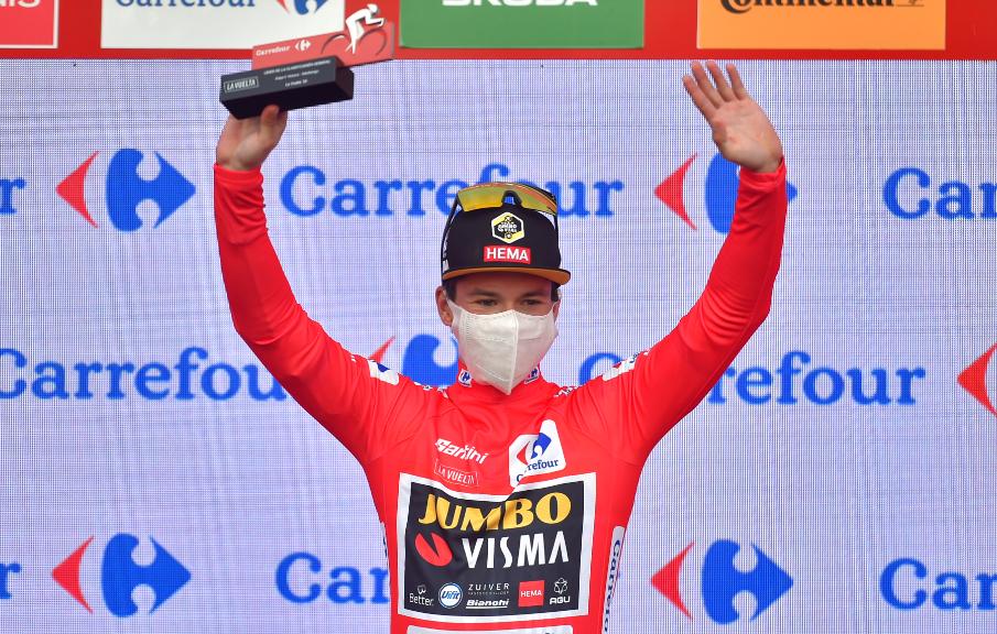 Primoz Roglic, líder de la Vuelta a España 2020.
