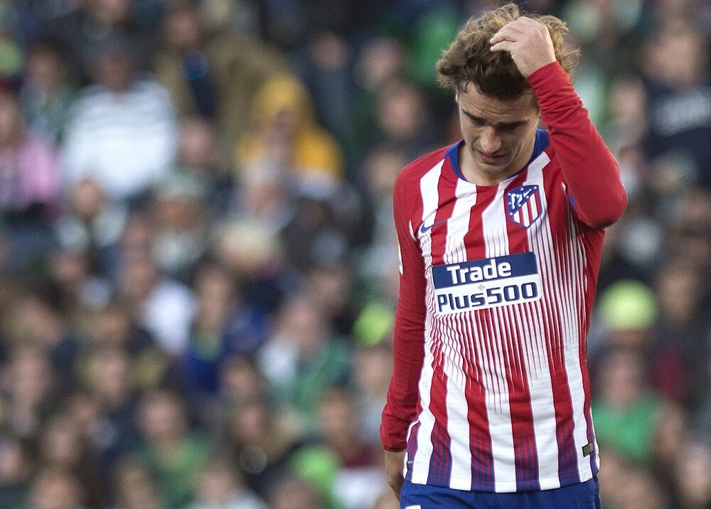 326549_BLU Radio, Antoine Griezmann - Atlético de Madrid / Foto: AFP