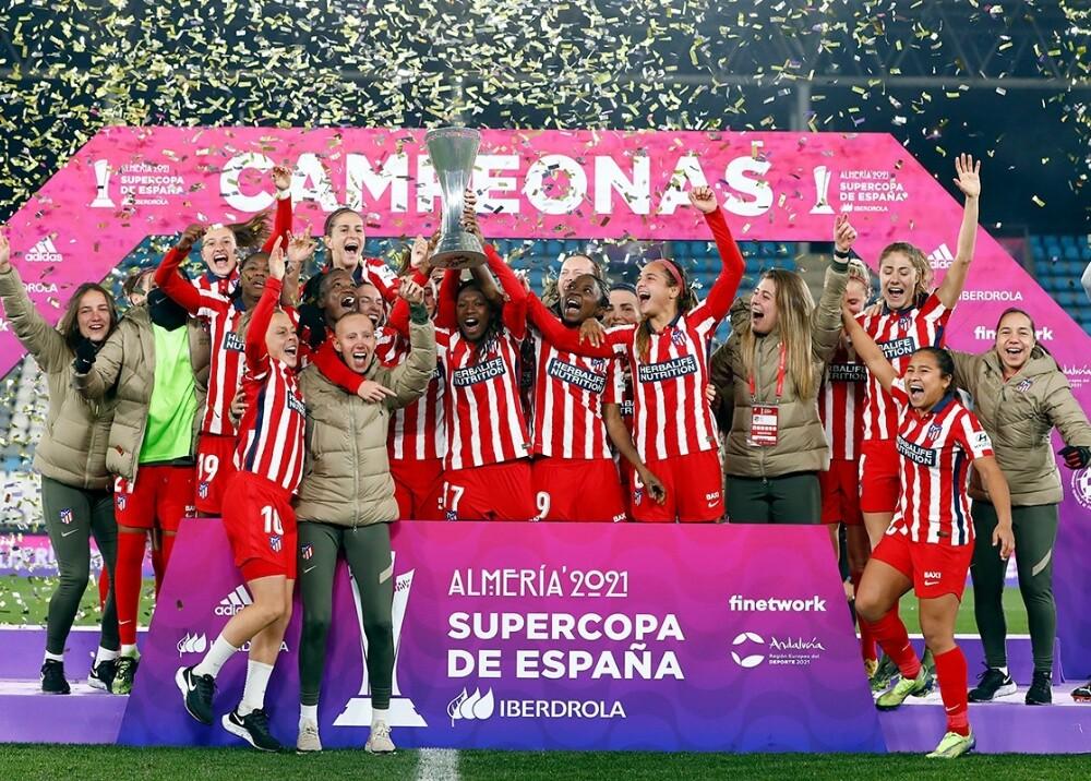 Atlético de Madrid Leicy santos foto twitter.jpg
