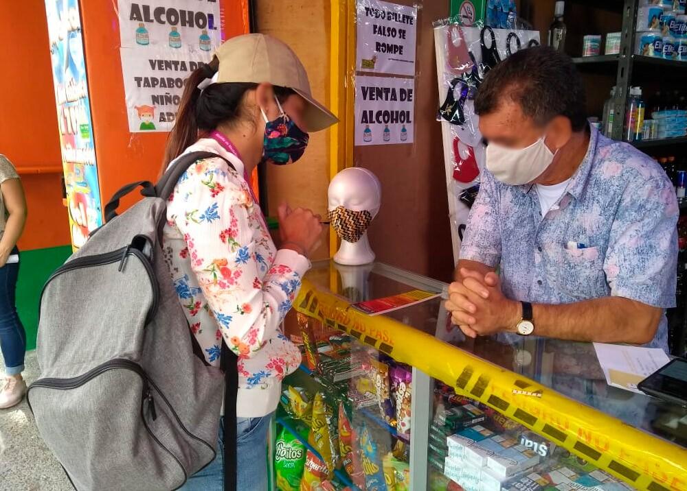 375206_Comercio en Medellín durante la pandemia // Foto: Facebook Alcaldía de Medellín