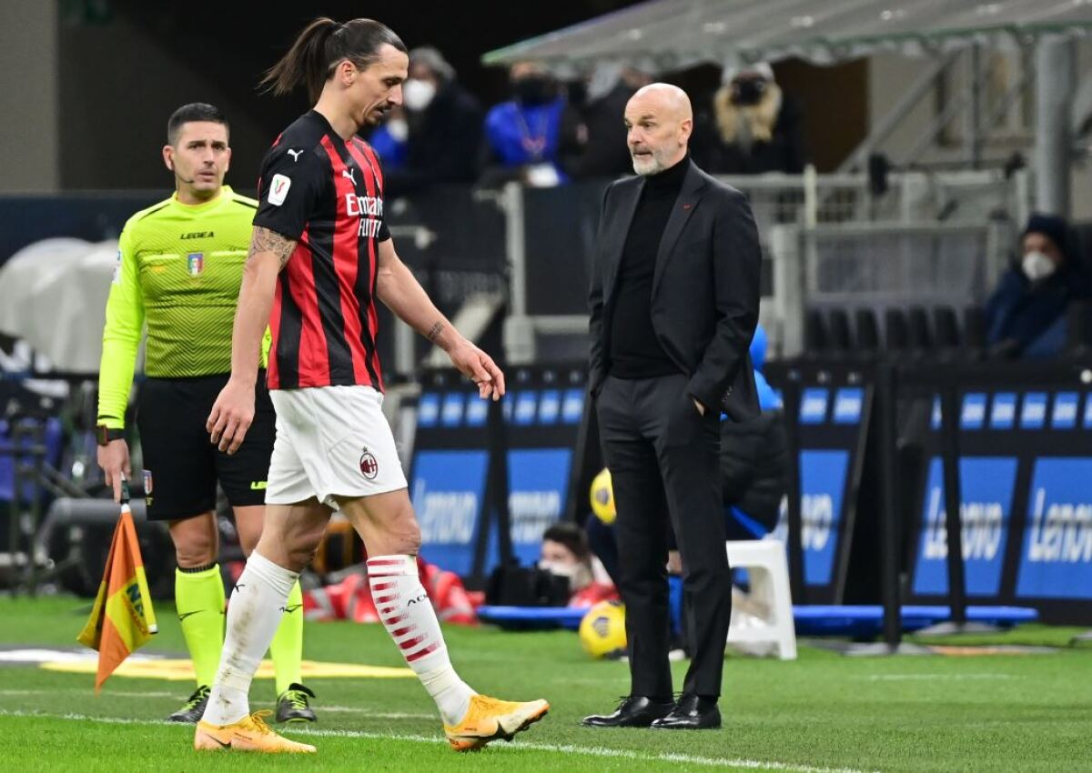 Partido de contrastes para Zlatan Ibrahimovic: gol y expulsión en el  clásico de Milan contra Inter