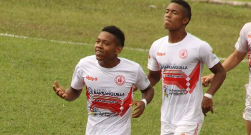Jugadores selección Atlántico. Foto Liga de Fútbol Atlántico.PNG