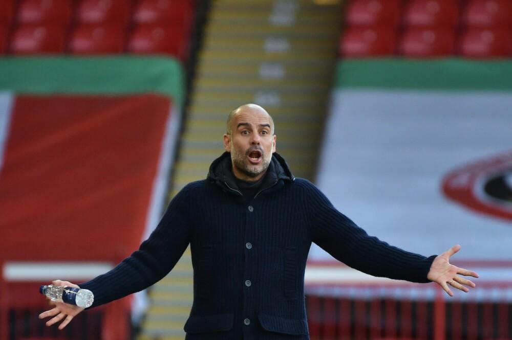 Pep Guardiola / AFP