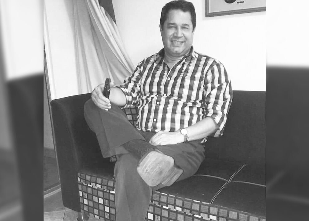 Danilo Salgado operador de radio fallecido en cali