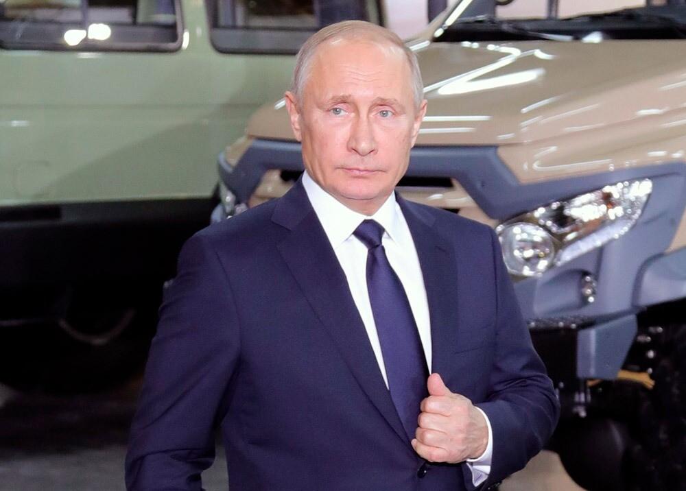 369626_Vladimir Putin // Foto: AFP