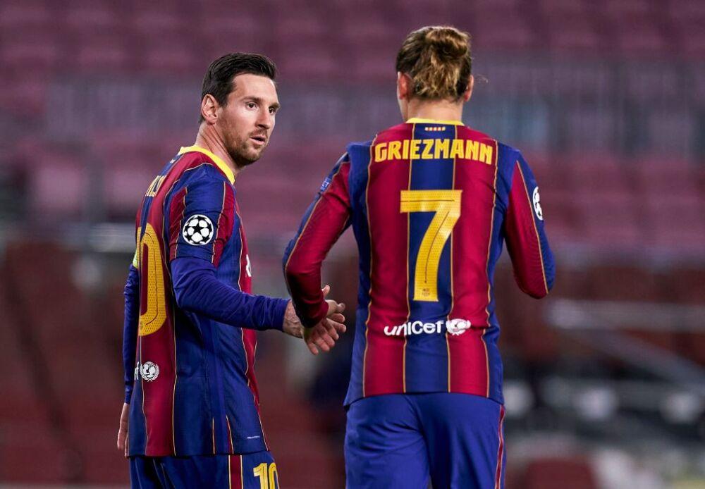Griezmann y Messi, Barcelona