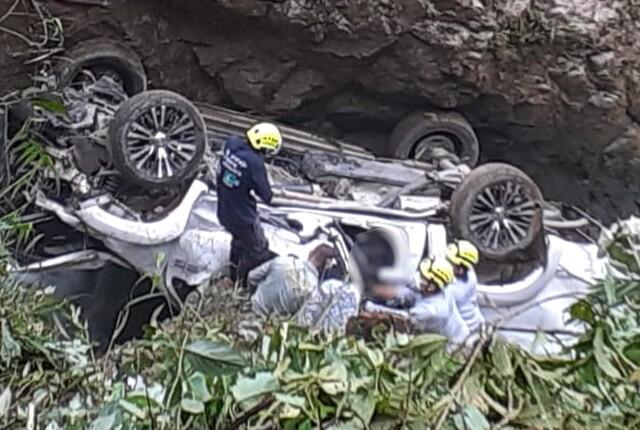 accidente en Cocorná.