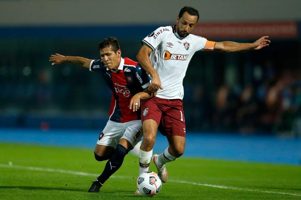 Rafael Carrascal, jugador colombiano de Cerro Porteño. AFP.jpeg