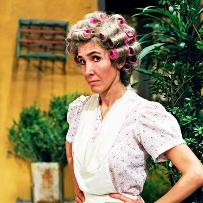 Florida Meza en el papel de 'Doña Florinda'.