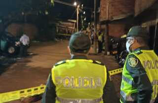 Atentado Policía Cali