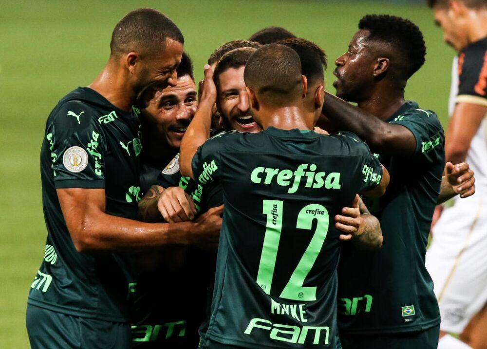 2020 Brasileirao Series A: Palmeiras v Sport Recife Play Behind Closed Doors Amidst the Coronavirus (COVID - 19) Pandemic